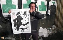 King of shooting bucharest shooting range our happy shooter