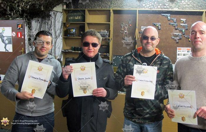King of shooting brno shooting range our happy soldiers