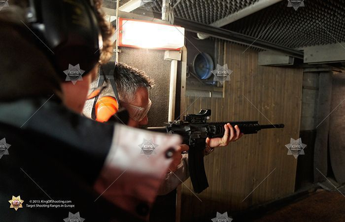 King of shooting bucharest shooting range m4