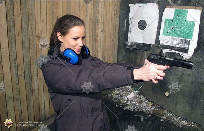 King of shooting bucharest shooting range super lady