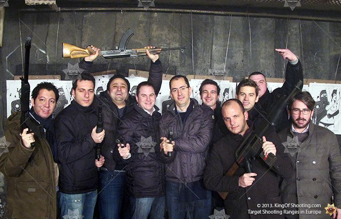 King of shooting budapest shooting range ciao bella