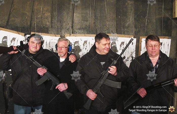King of shooting budapest shooting range real men