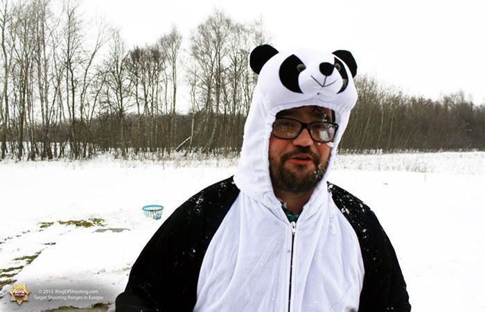 King of shooting krakow clay pigeon dear mr panda