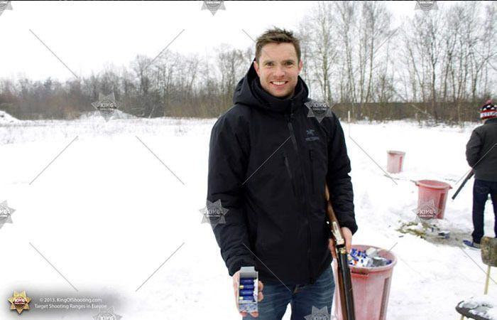 King of shooting krakow clay pigeon happy shooter