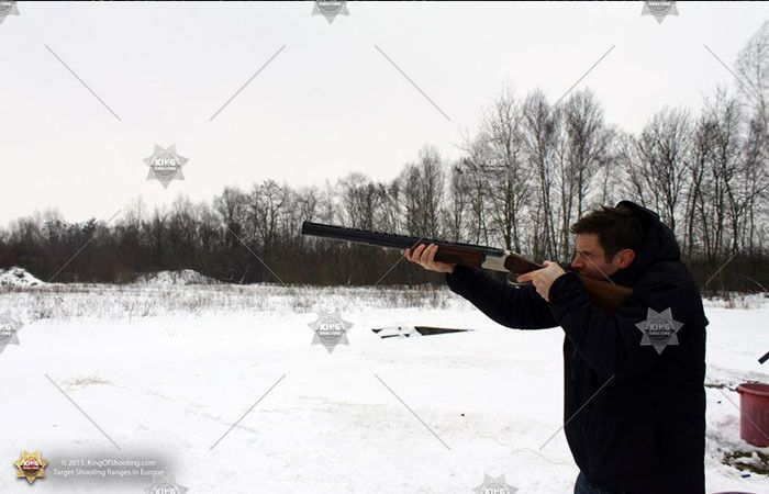 King of shooting krakow clay pigeon revenge for loosing in angry birds