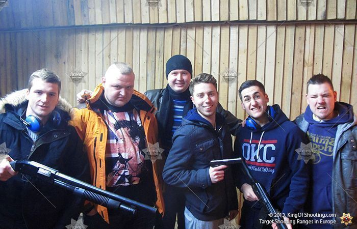 King of shooting krakow shooting range brigada