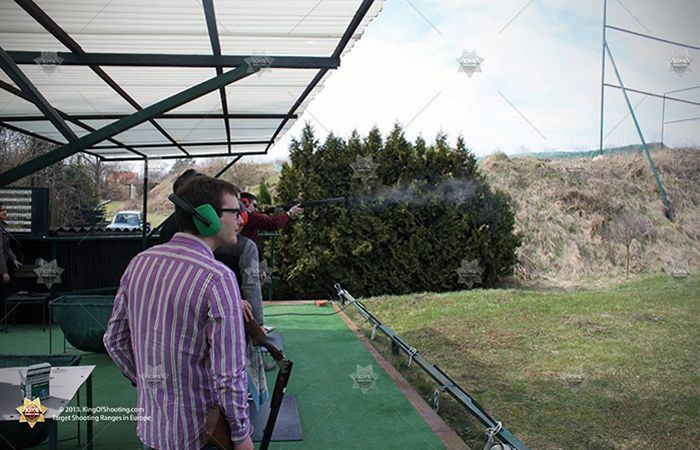 King of shooting prague clay pigeon aim it good