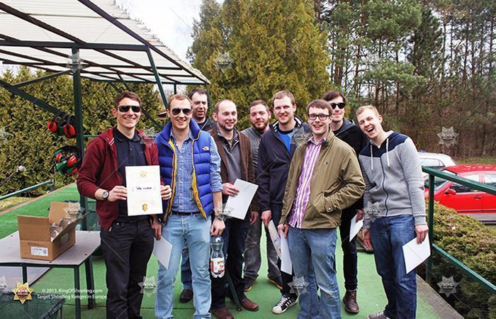 King of shooting prague clay pigeon super crew