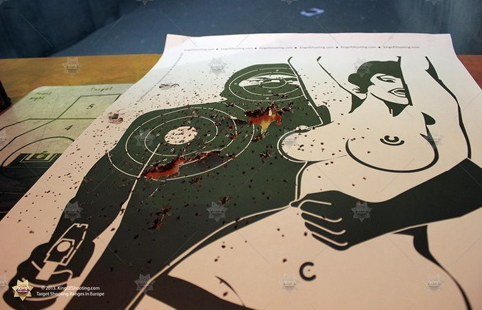 King of shooting prague shooting range creative target shooting
