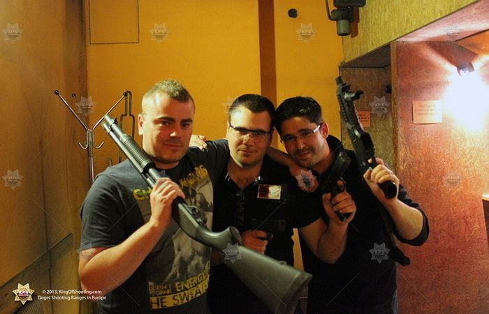 King of shooting prague shooting range having a great time