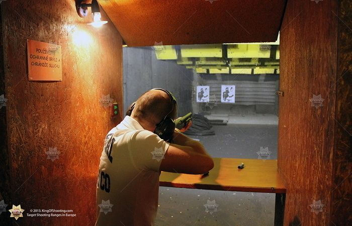 King of shooting prague shooting range target