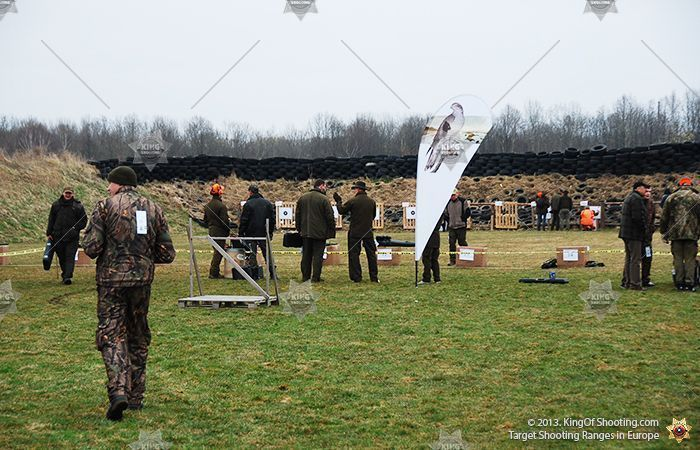 King of shooting riga clay pigeon military base