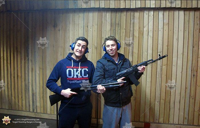 King of shooting riga shooting range bad ass