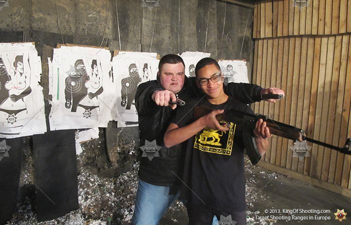 King of shooting riga shooting range bros
