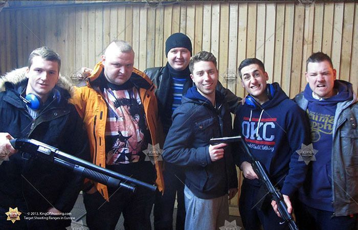 King of shooting riga shooting range dream team