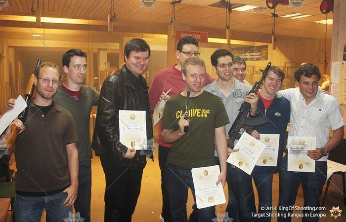 King of shooting riga shooting range killer gang