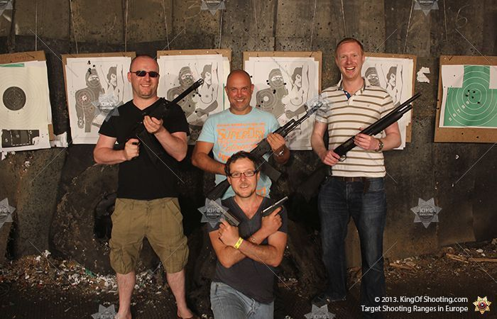 King of shooting riga shooting range mafia