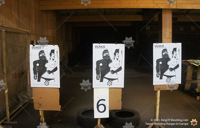 King of shooting riga shooting range target