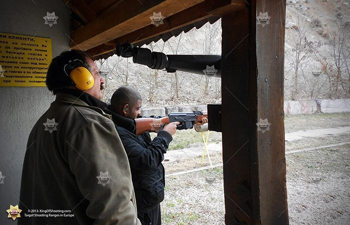 King of shooting sofia shooting range ak 47