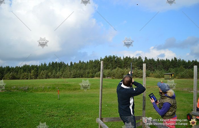 King of shooting tallinn clay pigeon fun