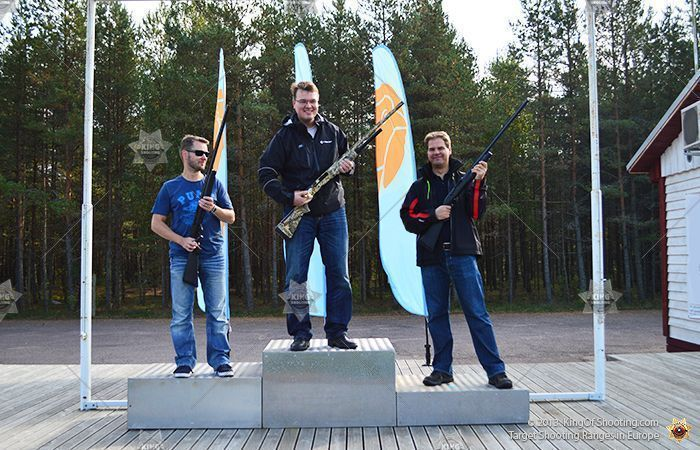 King of shooting tallinn clay pigeon get awarded