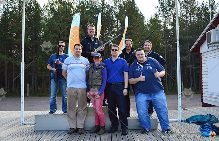 King of shooting tallinn clay pigeon great team