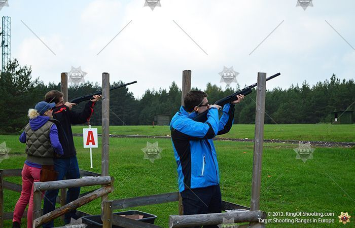 King of shooting tallinn clay pigeon let s see who s better at this