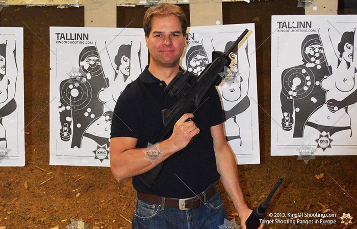 King of shooting tallinn shooting range big gun