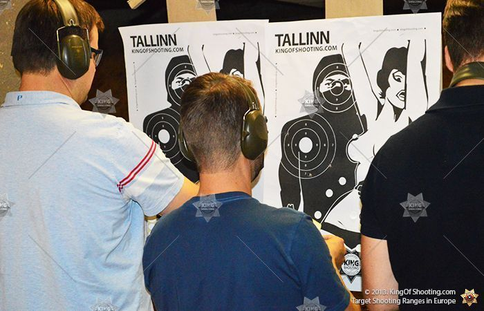 King of shooting tallinn shooting range checking your scores