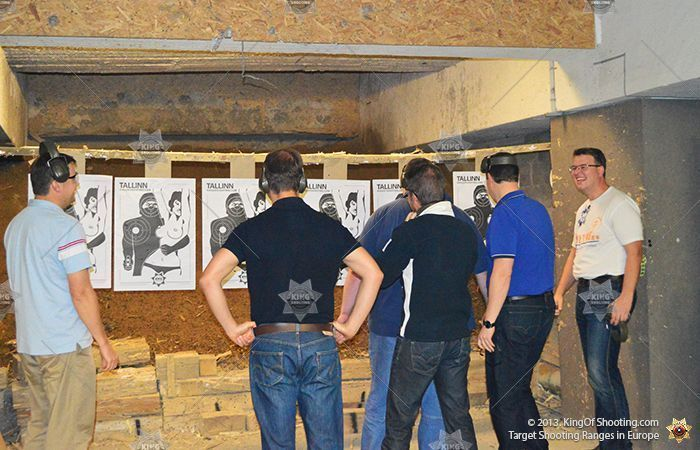 King of shooting tallinn shooting range compete