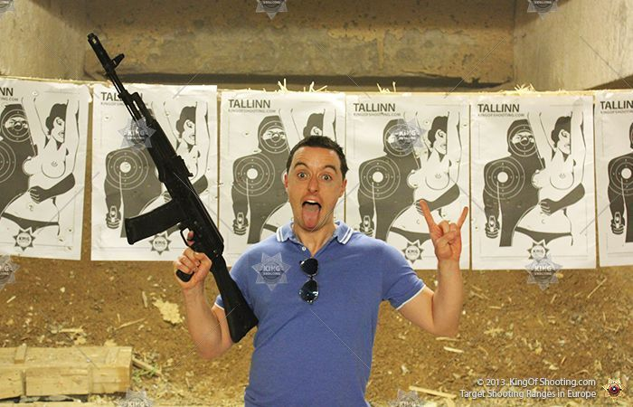 King of shooting tallinn shooting range crazy mother f