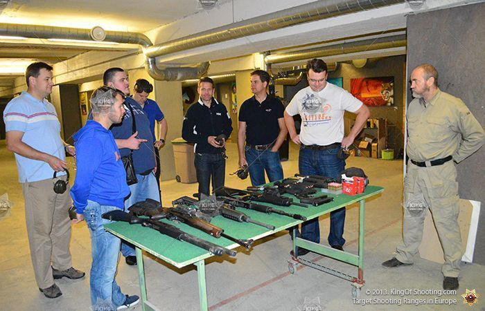 King of shooting tallinn shooting range learning about weapons