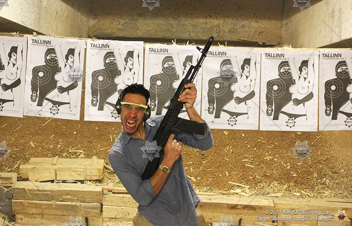 King of shooting tallinn shooting range lool