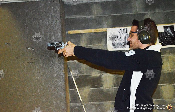 King of shooting tallinn shooting range revolver