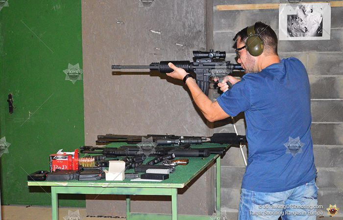 King of shooting tallinn shooting range shoot