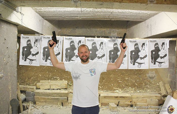 King of shooting tallinn shooting range the best