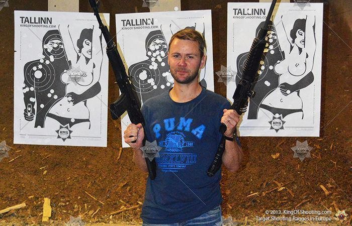 King of shooting tallinn shooting range the more the better
