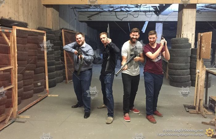King of shooting vilnius shooting range friends guns 2