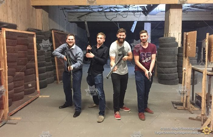 King of shooting vilnius shooting range friends guns