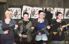 King of Shooting - Budapest Shooting Range - Good girls gone bad!