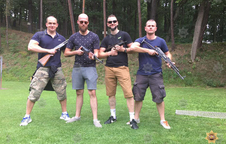 Target shooting in Prague