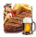 Beer steak party