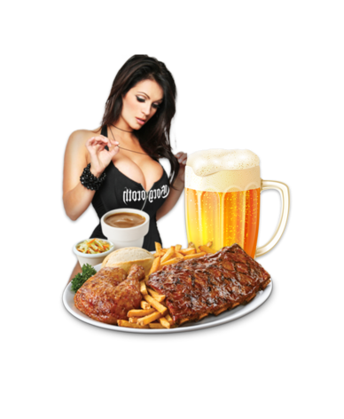 Strip + Steak + Beer